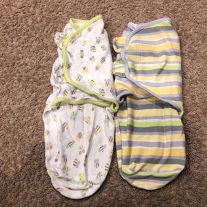 2 summer swaddle size small.